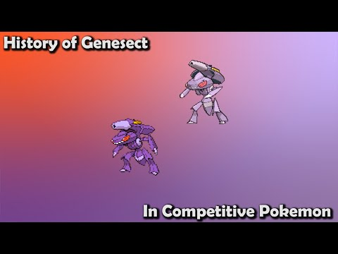 How GOOD was Genesect ACTUALLY? - History of Genesect in Competitive Pokemon (Gens 5-7)