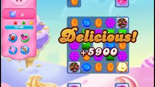 Candy Crush Saga Level 2921 - NO BOOSTERS