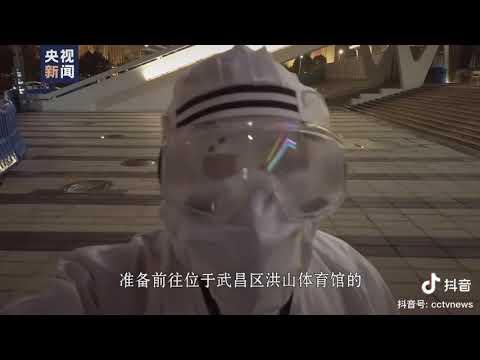 央视记者冒死进入武汉医院