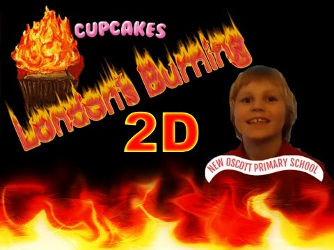 Abel's London's Burning Flaming Cup Cake Power Project