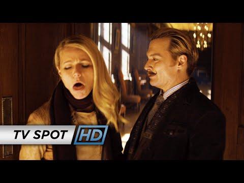 """Mortdecai (2015 Movie - Johnny Depp) Official TV Spot – """"Something Extra"""""""