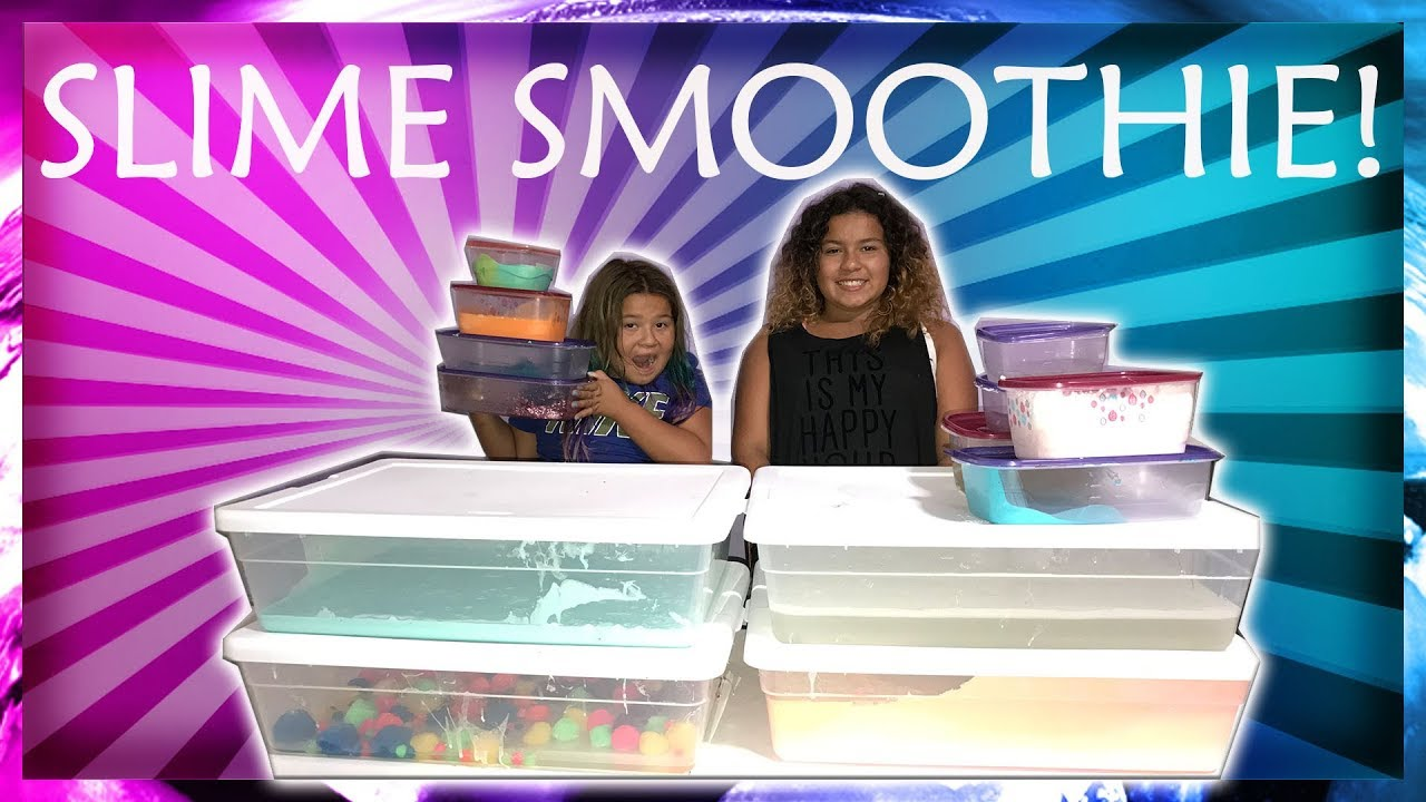 Slime Master Mary And Izzy: MIXING ALL OUR GIANT SLIMES
