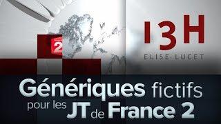 Génériques fictifs pour les JT de France 2 (2012)