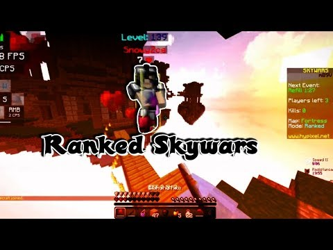Grab a snack and watch | Hypixel Ranked Skywars Commentary.