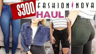 $300 FASHION NOVA TRY-ON HAUL | I WAS SHOCKED!