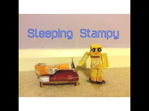 Minecraft Stop-Motion: Sleeping Stampy