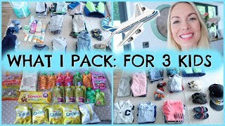 PACKING FOR KIDS  |  HOW I PACK FOR 3 KIDS  |  HOW I PACK FOR A BABY / TODDLER  |  EMILY NORRIS