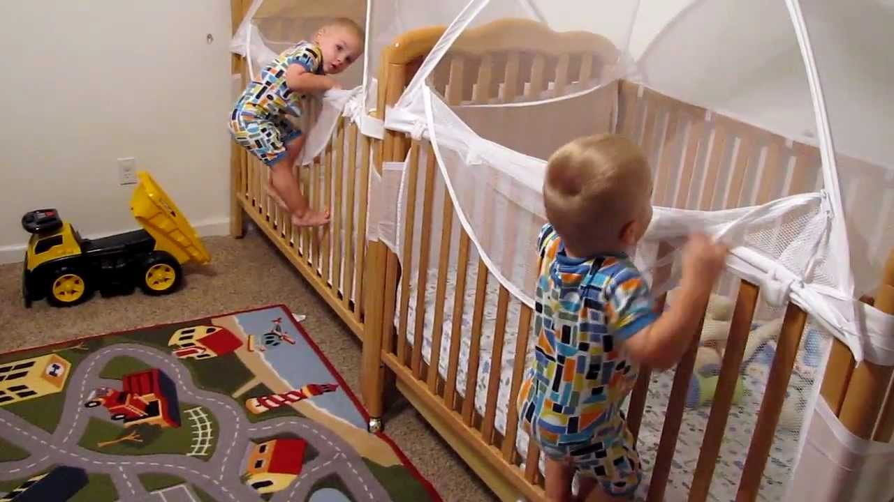 Twins Putting Themselves To Bed Youtube