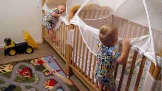 Twins Putting Themselves to Bed thumbnail