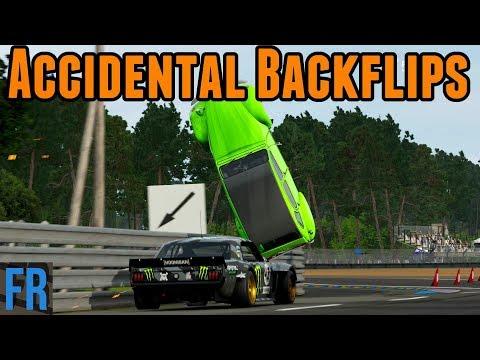 Forza  Motorsport 7 Challenge - Accidental Backflips !