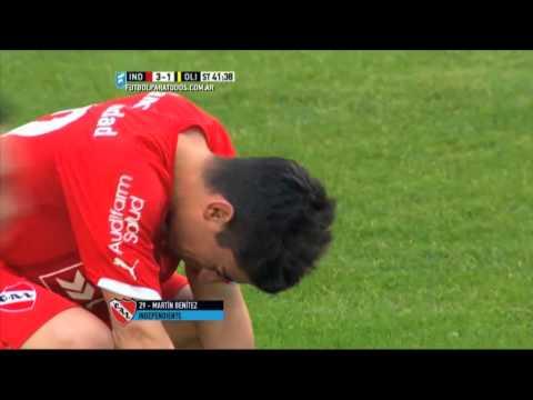 ¡Ganó el Rojo! Independiente venció a Olimpo en el estreno de Pellegrino