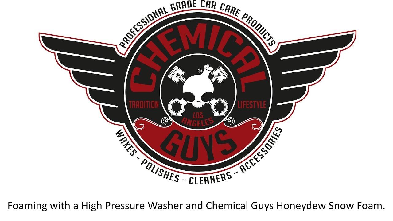 chemical guys honeydew snow foam youtube