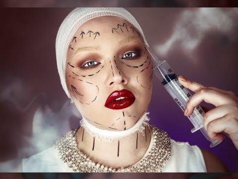 Halloween: Plastic Fantastic Makeup Tutorial
