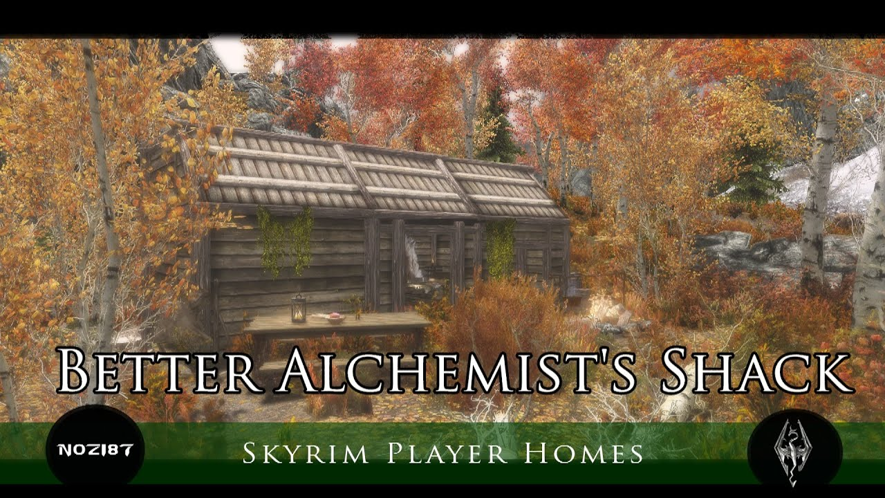 Better Alchemist's Shack at Skyrim Nexus - mods and community