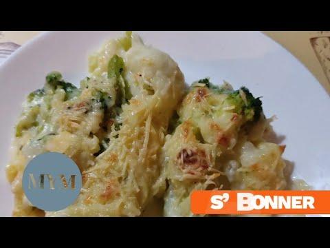 recette.gratin-de-trio-de-fleurettes(chou-fleur)au-béchamel/-وصفة-غراتان-القرنبيط-(شفلور)-بالبشاميل
