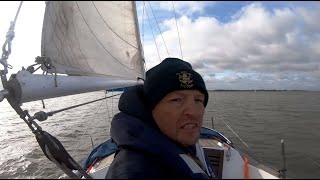 Sailing Harley Quinn - Hamford Water To Brightlingsea, October 2019 - Tomahawk 25