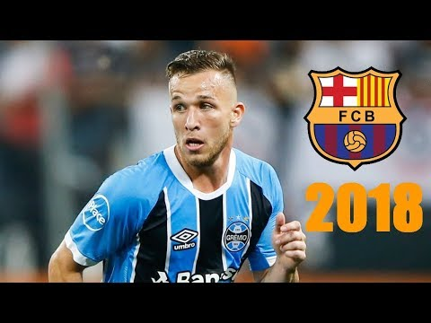 Arthur Melo ● Welcome to FC Barcelona ● Skills & Goals 2018