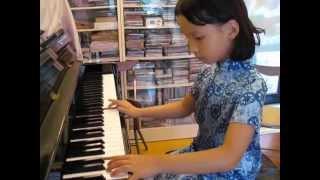 ABRSM (2013-2014) Piano Exam G2 - Li Yinghai: Xiong Mao (B:3)