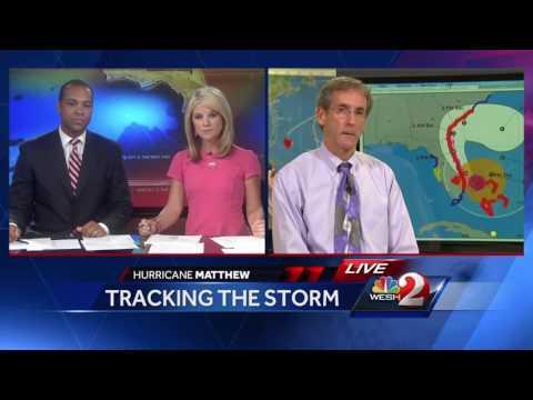 National Hurricane Center director updates track of Hurricane Matthew