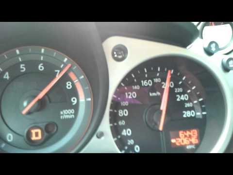 Nissan 370Z von 0-245 km/h