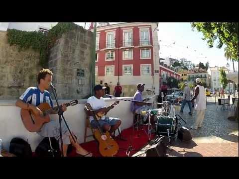 Musica per le vie di Lisbona