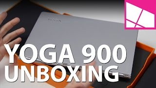Lenovo Yoga 900 unboxing and first impressions