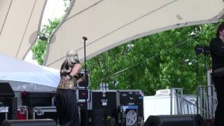 """Berlin Sings """"sex (i'm A)"""" At The 2014 Asparagus Festival In Stockton Ca"""