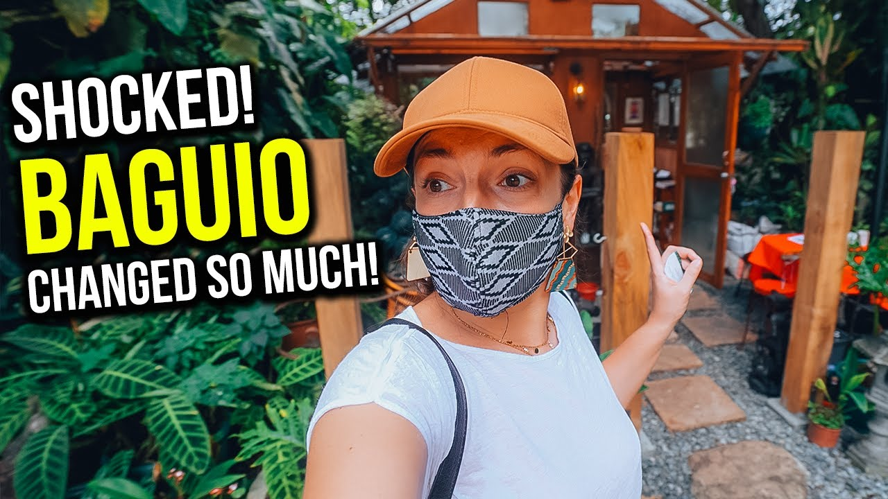 BAGUIO is so DIFFERENT - we didn't expect to find THIS in the FILIPINO Mountain City!