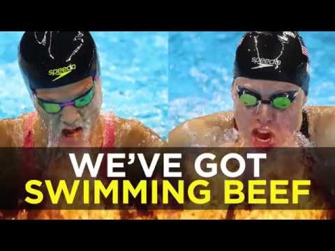 Lilly King taunts and calls out Yulia Efimova for doping | Rio Olympics 2016