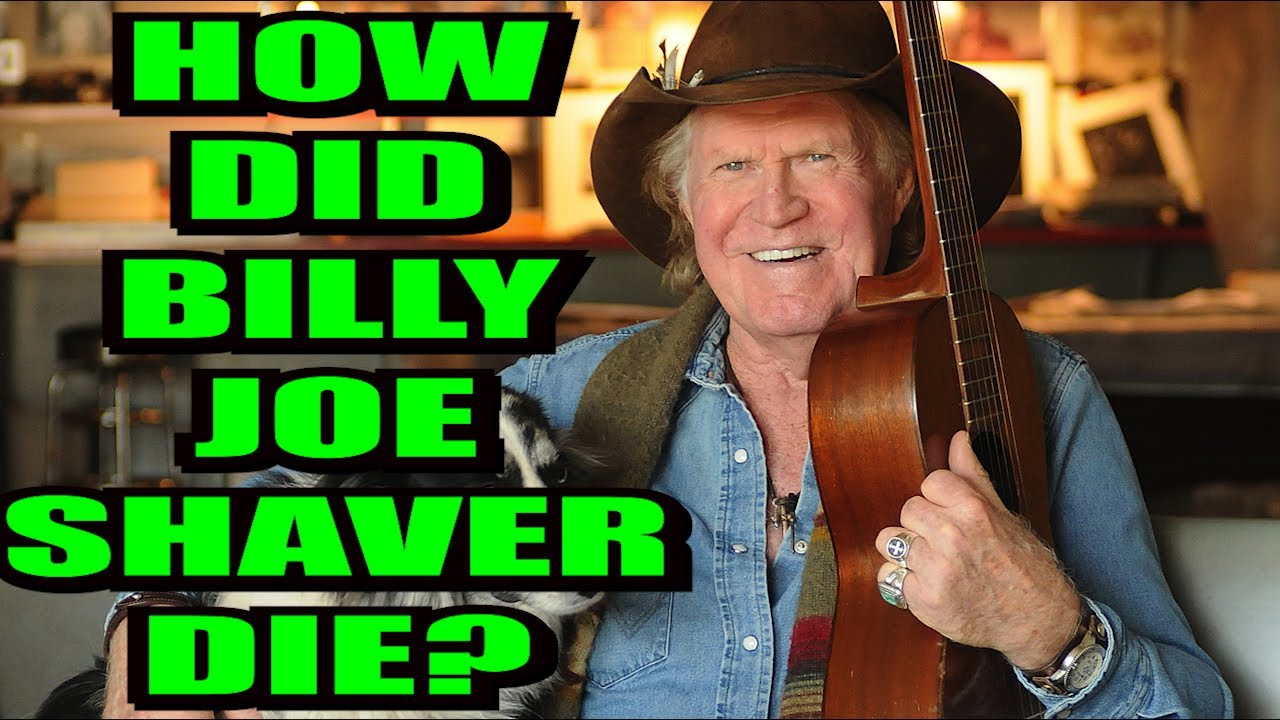 Billy Joe Shaver, outlaw country singer-songwriter, dies