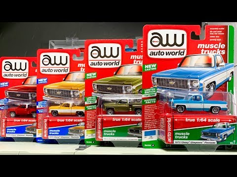 Lamley Preview: Auto World 2019 Release 2 & The Debut Of The Chevy Square Body!