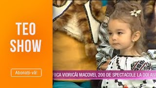 Teo Show (03.10.2019) - Fiica Vioricai Macovei, 200 de spectacole la 2 anisori!