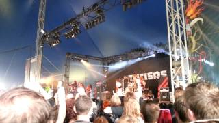 Turisas - Battle Metal - Download Festival 2013
