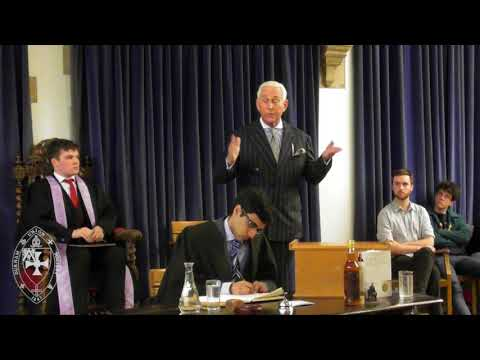 Roger Stone | Full Address | the Durham Union
