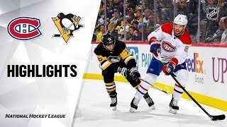 Nhl Highlights   Canadiens @ Penguins 12/10/19