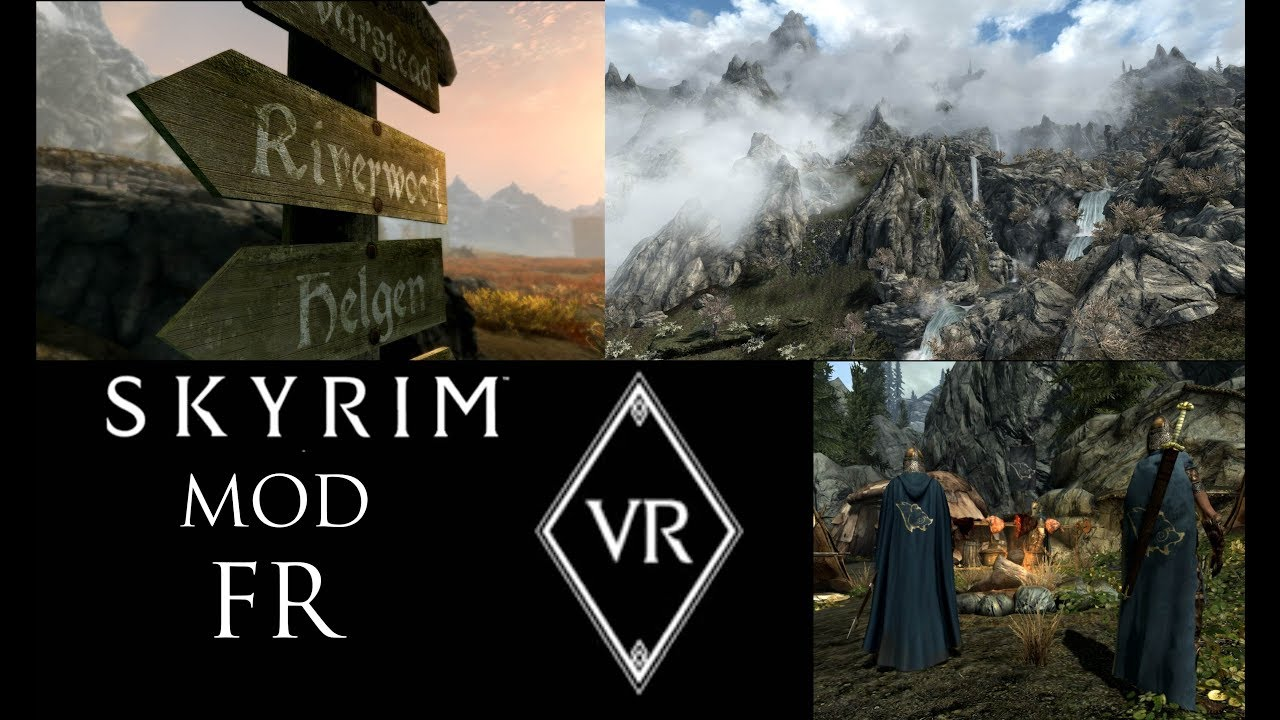 mods for skyrim vr