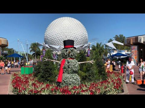 Epcot Live Stream - Surprise! 11-22-17 - Walt Disney World