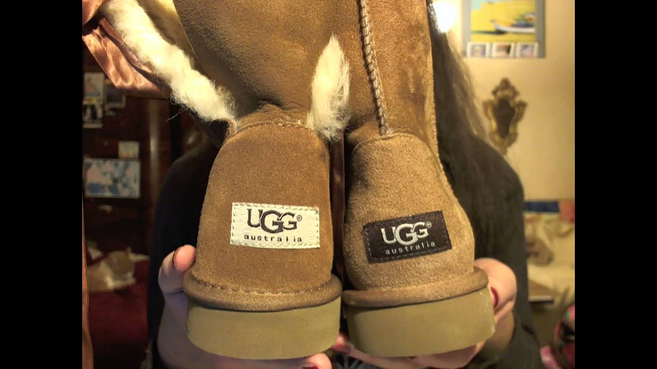Fake Ugg Australia Bailey Bow Ugg Review Vs Real Youtube