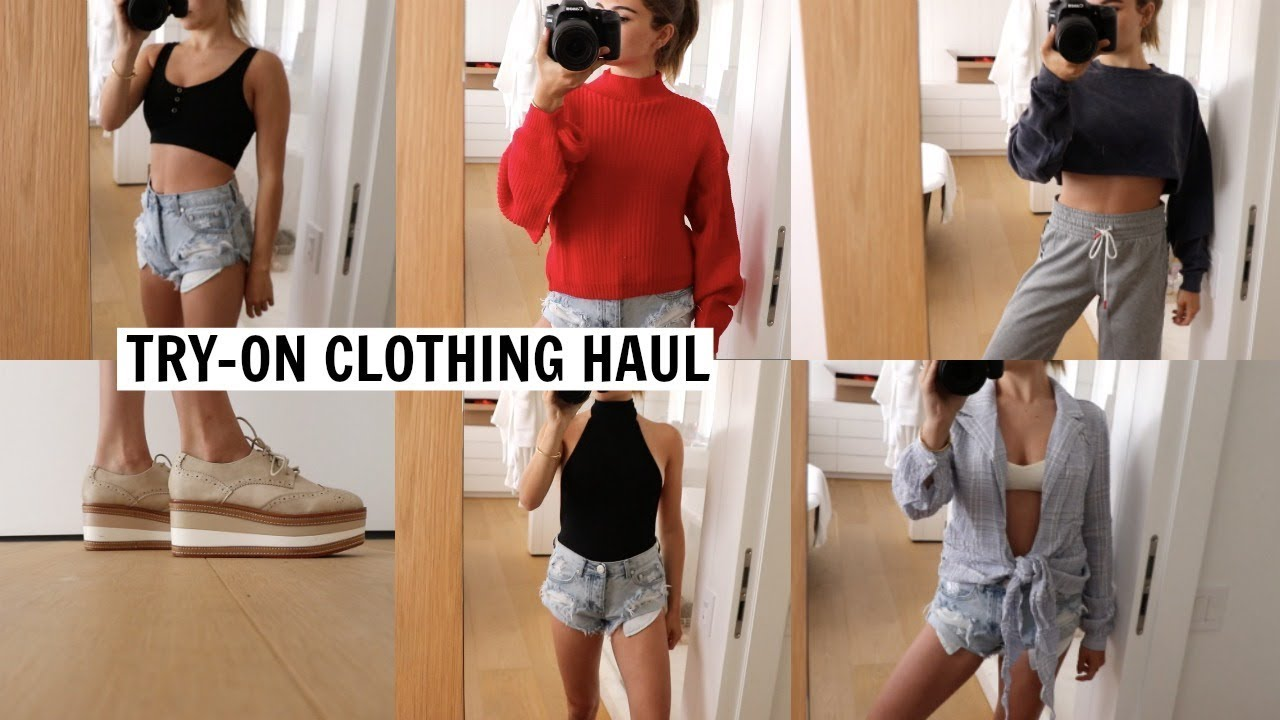 TRY ON SUMMER   FALL CLOTHING HAUL 2018 l Olivia Jade - YouTube 49a5c362c