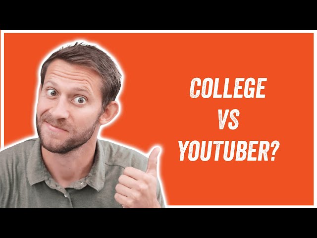 YouTuber or College? #shorts