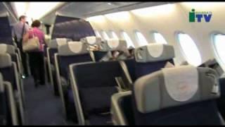 A Malpensa atterra l'aereo più grande del mondo