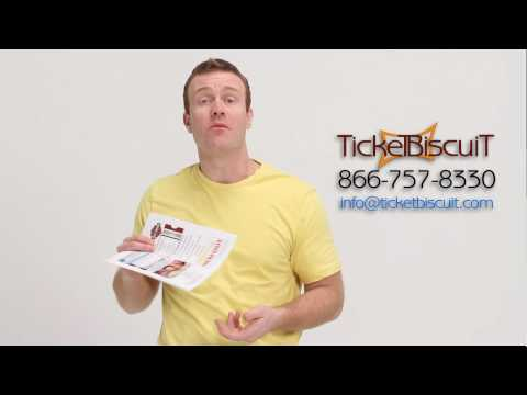 Print-at-Home e-tickets from TicketBiscuit