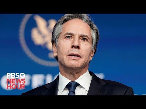 WATCH: Antony Blinken's Senate confirmation hearing for Secretary of State