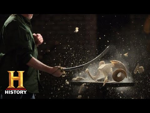 Forged in Fire: Napoleon's Saber LACERATES in FINAL ROUND (Season 6) | History