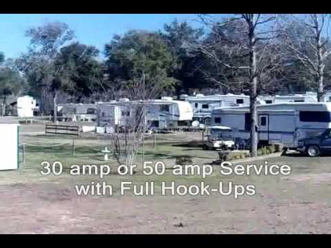 Texas camping full hook up
