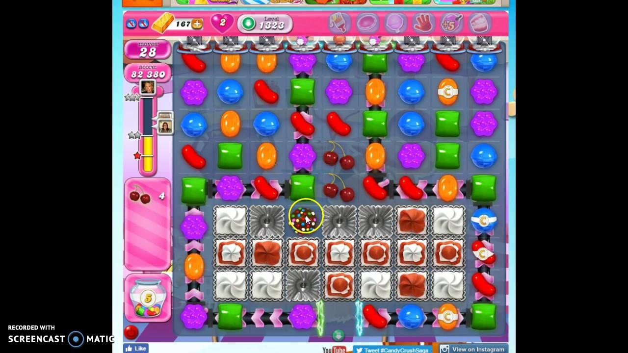 candy crush 1323