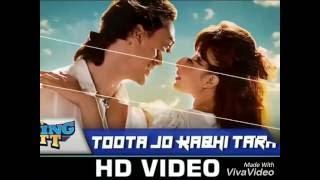 Toota Jo Kabhi Tera |A Flying Jatt | Tiger S, Jacqueline F | Atif Aslam & Sumedha K | sachin jigar