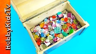 Jewels Treasure Chest! Gem Colour Contest Learn Colors + HobbyPig HobbyKidsTV