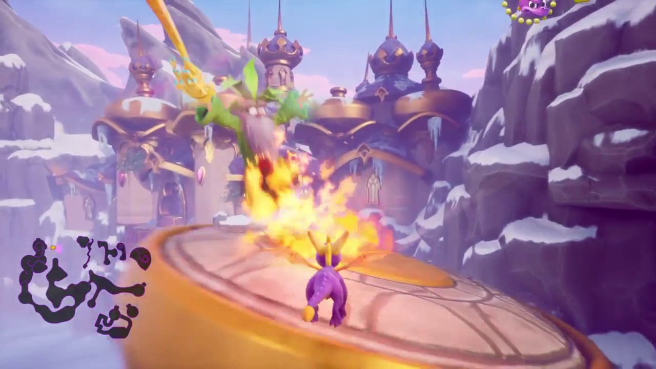 Spyro Reignited Trilogy High Caves Skill Point Part 6 Burn