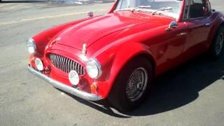 1965 austin healey replica sebring 5000 roadster